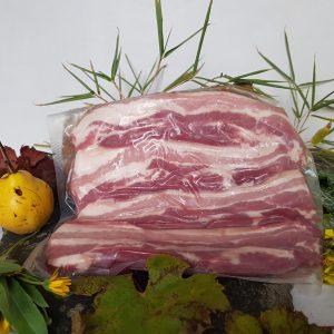 poitrine tranchée porc